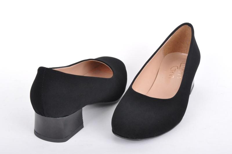НОВО! Дамски обувки на ток-Набук