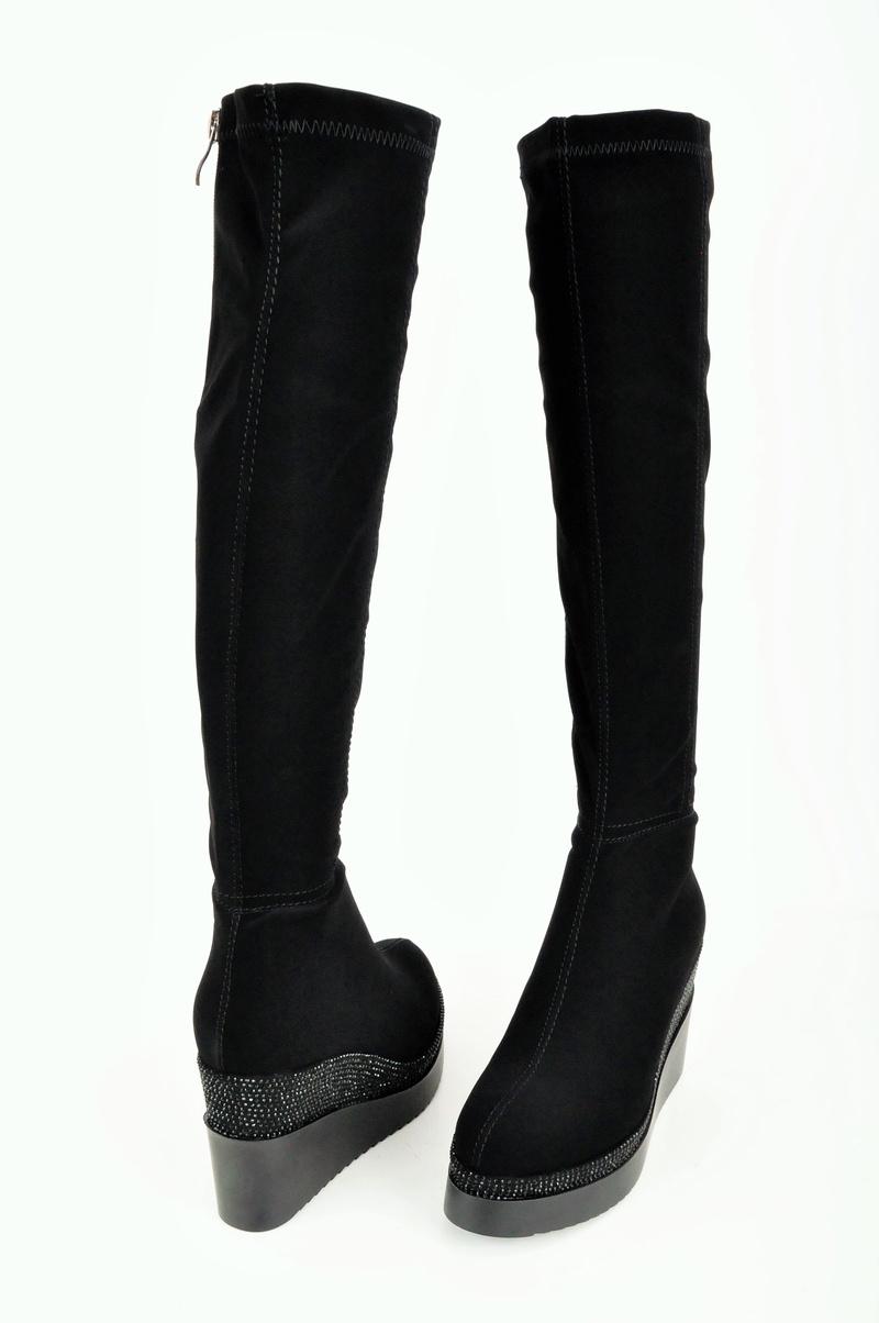 НОВО! Дамски елегантни ботуши-Платформа