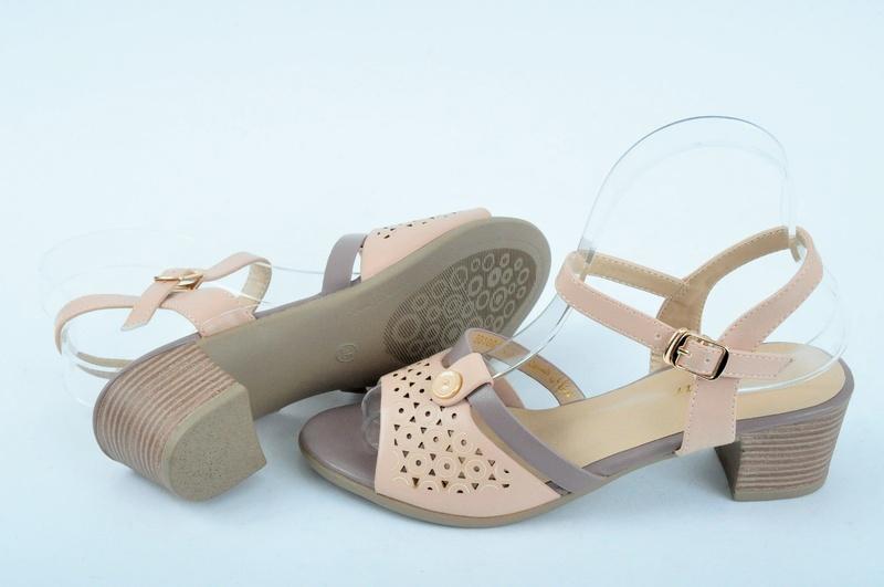 NEW! Дамски сандали на ток-Три цвята