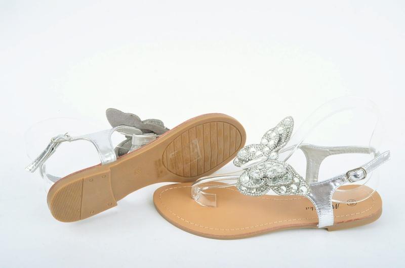 Дамски сандали Пеперуда-Два цвята