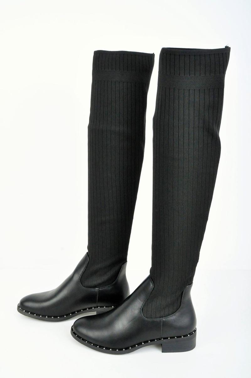 00c35059d4d НАМАЛЕНИЕ! Дамски чизми тип- Чорап - Nancy.bg - онлайн магазин