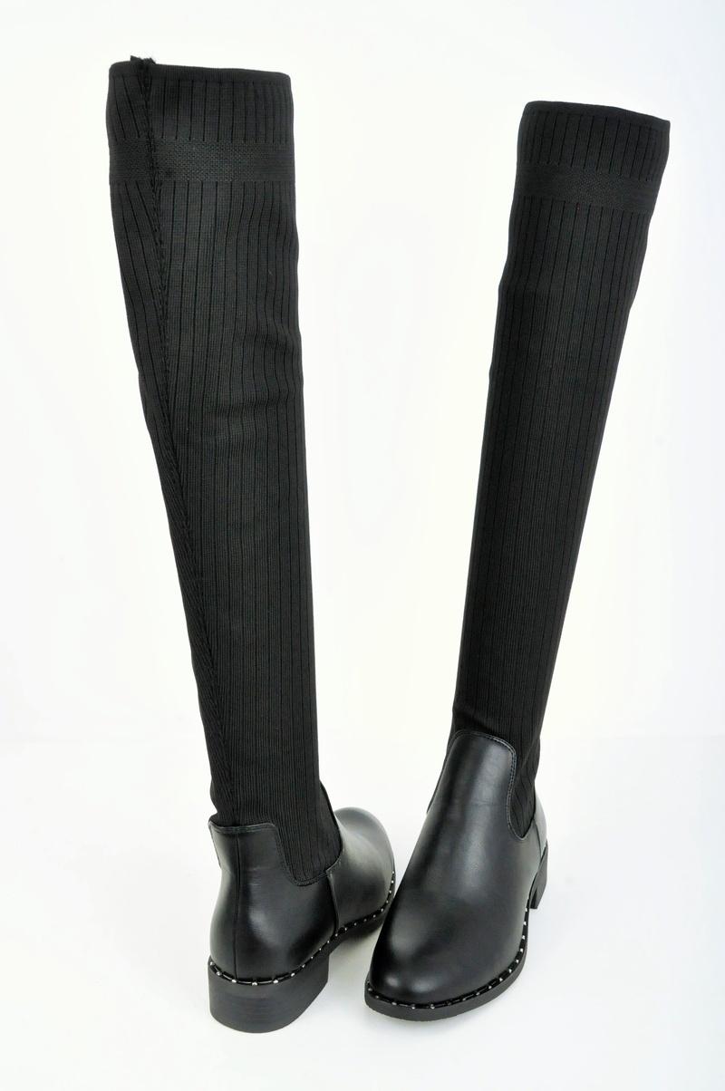 НАМАЛЕНИЕ! Дамски чизми тип- Чорап