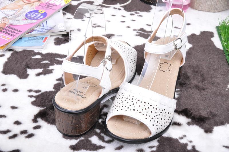 598b2eb3401 НОВО! Дамски сандали нисък ток-Три цвята - Nancy.bg - онлайн магазин