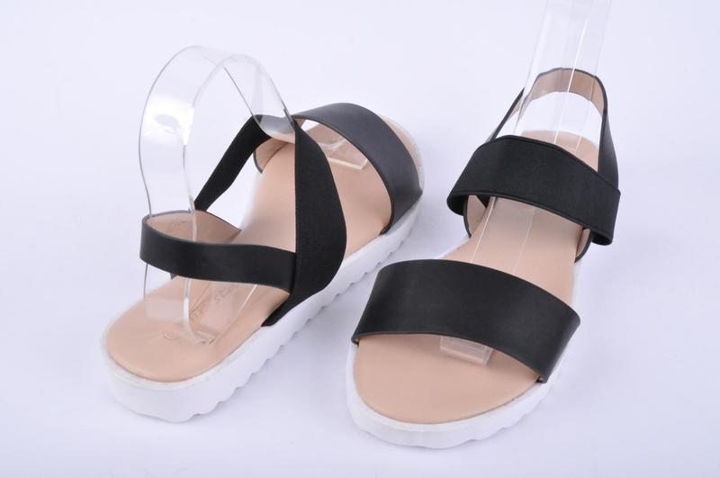 НОВО! Ниски дамски сандали с ластик