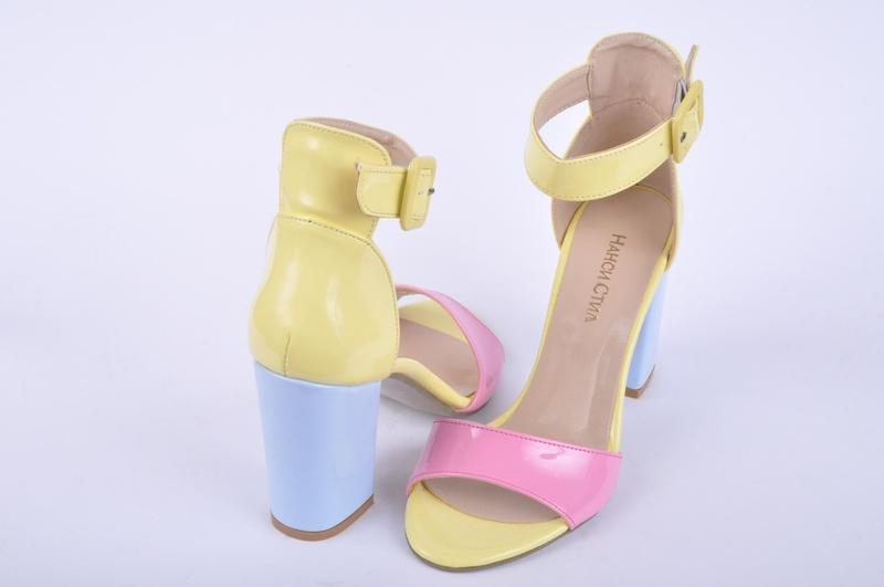 NEW! Дамски сандали-Висок ток