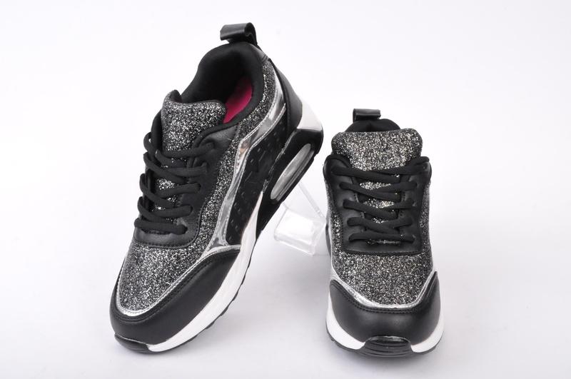 Дамски маратонки-Брокат-Два цвята