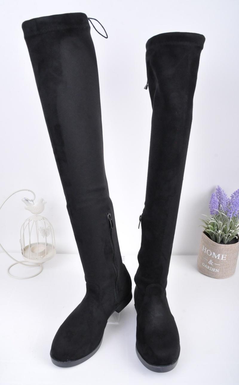 NEW! Дамски чизми велур
