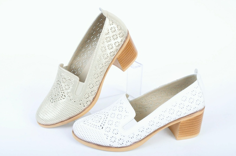НОВО! Дамски обувки на ток-Два цвята