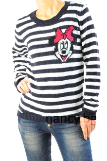 Дамска блуза Мини Маус - плетиво