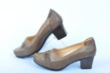 Дамски обувки на ток - Кафяви