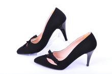 Елегантни дамски обувки-Набук