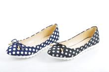 Дамски пантофки в два цвята