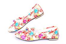 Цветни дамски обувки
