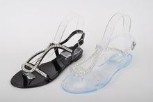 Дамски силиконови сандали в два цвята