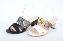 Красиви дамски чехли на ток