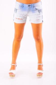 Къси дънкови дамски панталони