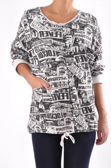 НОВО! Памучна дамска блуза