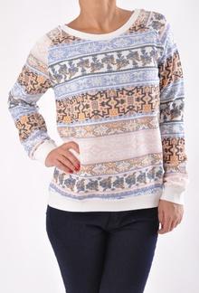 Шарена дамска блуза