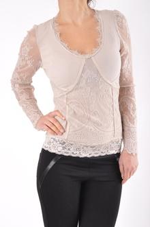 Ефирна дамска блуза