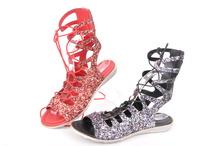 Дамски сандали Брокат-Два цвята