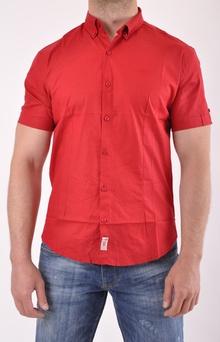 НОВО! Мъжка риза къс ръкав-Два цвята