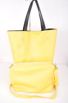 NEW! Двулицева дамска чанта от две части