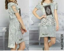 НОВО! Дамска рокля-Два цвята