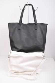 НОВО!Двулицева дамска чанта от две части