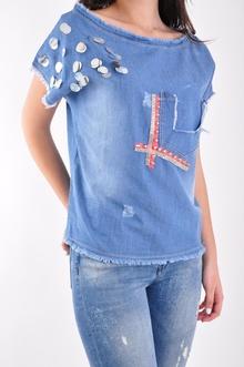 НОВО! Дамска дънкова блуза