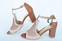 Дамски сандали на ток Нанси Стил