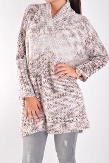 NEW! Дамски пуловер/пончо-Два цвята