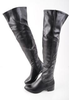 NEW! Дамски чизми-Кожа