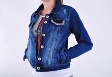 NEW! Дамско дънково яке(сафари)