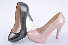 NEW! Дамски обувки на ток-Седеф-Два цвята