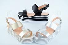 НОВО! Дамски сандали-Платформа-Три цвята