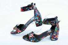 NEW! Дамски сандали Цветя