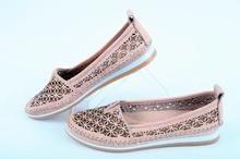 Естествена кожа-Дамски обувки