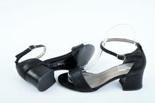 NEW! Черни дамски сандали на ток
