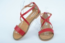 НОВО! Червени дамски сандали