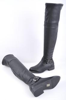 НАМАЛЕНИЕ! Дамски чизми - Кожа