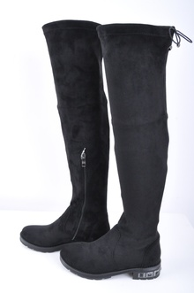 НОВО! Дамски чизми-Велур