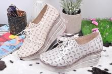 Дамски обувки на платформа-Два цвята