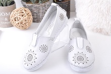 NEW! Дамски обувки естествена кожа-Три цвята