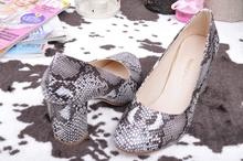 NEW! Дамски обувки - Змия - Два цвята