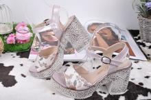 НОВО! Дамски сандали-Цветя