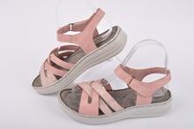 Розови дамски сандали