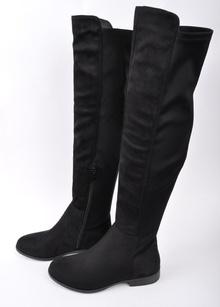 НОВО! Дамски чизми-Велур и стреч