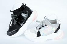 Дамски маратонки чорап-Два цвята