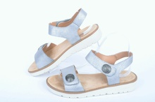 NEW! Сребристи дамски сандали