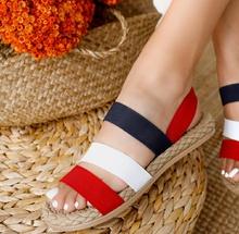 НОВО! Дамски ниски сандали с ластик